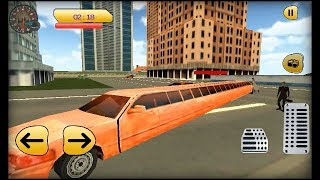 Luxury Limo Taxi Driver City : Limousine Driving(by  microclip Simulation)-Android Gameplay[HD].