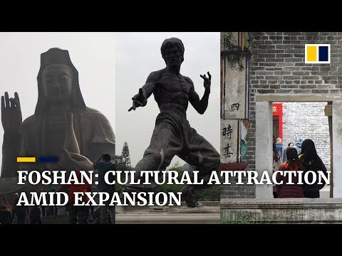 Foshan, 'Guangzhou's little brother', offers rich traditional Chinese culture