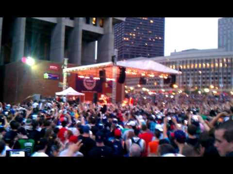 Mac Miller @ Boston City Hall Plaza 8/6/11