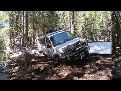 Sportsmobile Gets Stuck At Corral Hollow OHV Trail July 2019