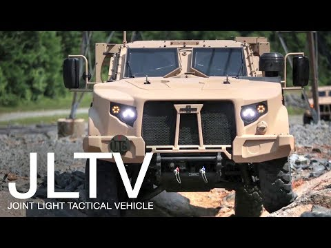 US Military To Replace Humvee With This Badass: Joint Light Tactical Vehicle (JLTV) – Off Road Demo