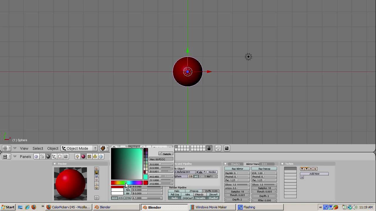 Game maker color picker - Ira Krakow S Color Picker Blender Tutorial
