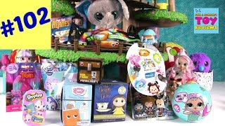Blind Bag Treehouse #102 Unboxing Slitherio Shopkins Disney LOL Dolls | PSToyReviews