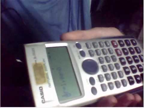 hack CASIO fx 570ES