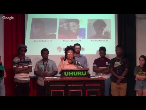 St. Petersburg InPDUM holds press conference in response to the murder of three African boys!