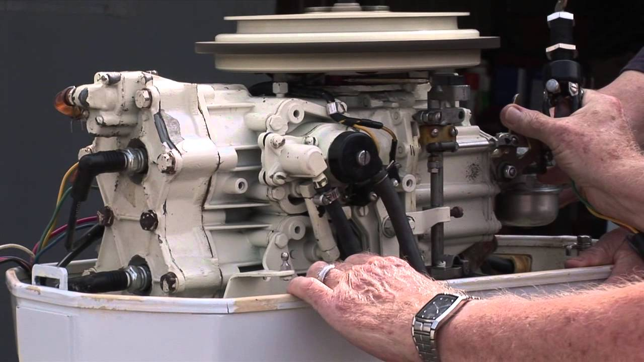 maxresdefault 1976 chrysler 55 hp outboard youtube