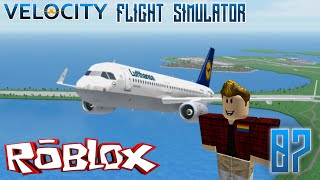ROBLOX: Velocity Flight Simulator Ep: 07 - Tester in Game?!?