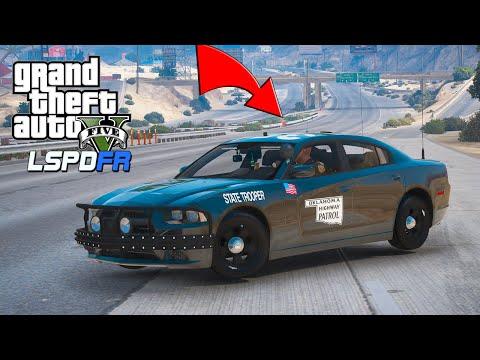 LIVE police radio FBI Chase - OKLAHOMA STATE TROOPER - GTA 5 LSPDFR