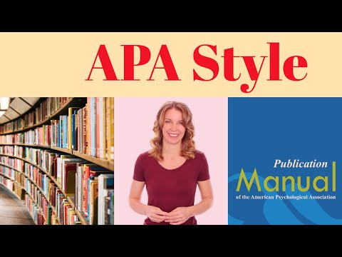 How to Write in APA Style