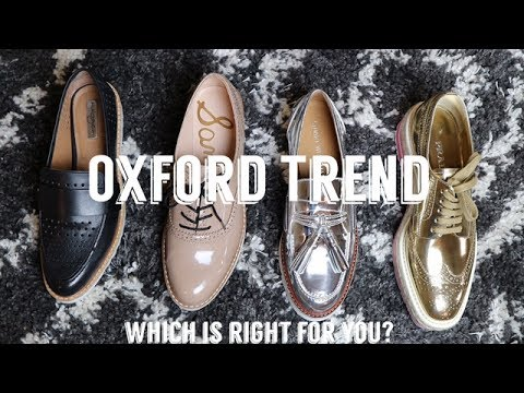4863f2f6 OXFORD TREND: High VS Low & Prada Platform Brogues