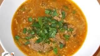 Харчо готовим дома с томатной пастой, приготовление харчо супа из говядины