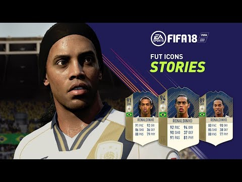 FIFA 18   FUT ICONS Stories Trailer ft. Ronaldinho