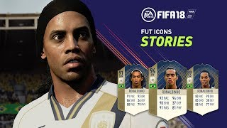 FIFA 18 | FUT ICONS Stories Trailer ft. Ronaldinho