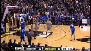 Ben Smith Wichita State University Basketball 2011-12 Highlights