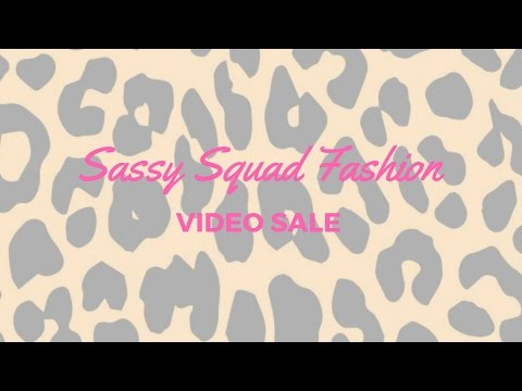 (Amelia and Carly Dresses) Sassy Squad Fashion Live Replay Episode 1