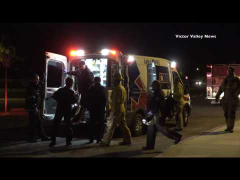 Man With Burns Airlifted After Explosion in Victorville Home