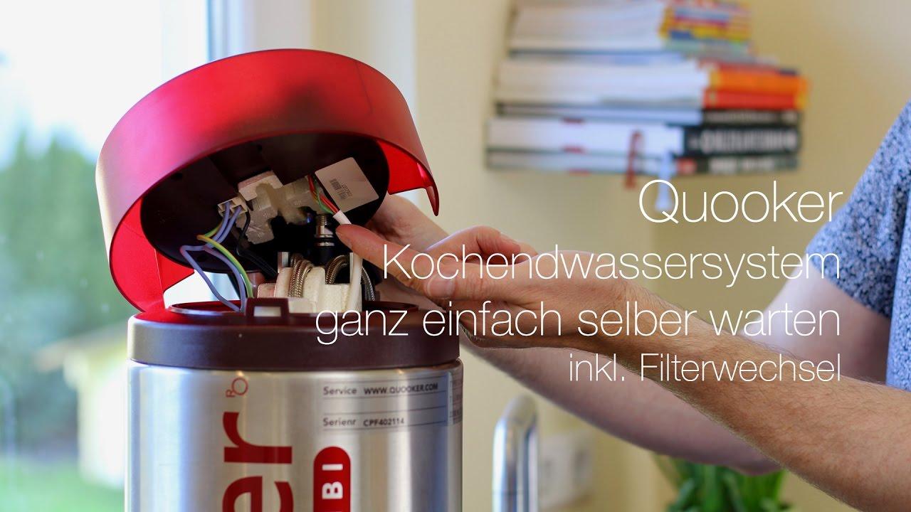 Quooker Kochendwassersystem Ganz Einfach Selber Warten Youtube