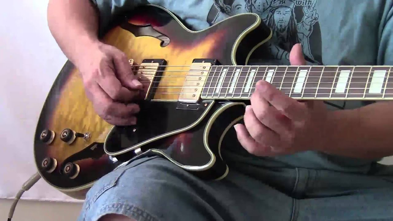 ibanez am93 artcore effects youtube