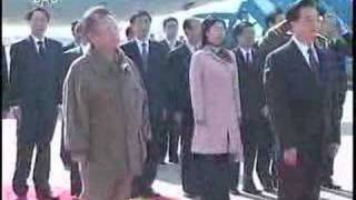 胡锦涛访问朝鲜Hu Jintao