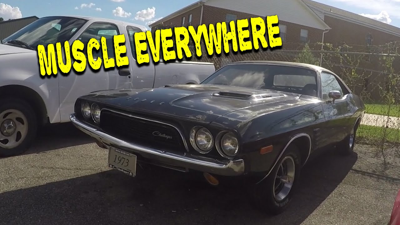 Finding Hidden Muscle Cars!