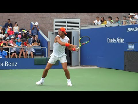 I think Nadal's forhand is one if not the most lethal.