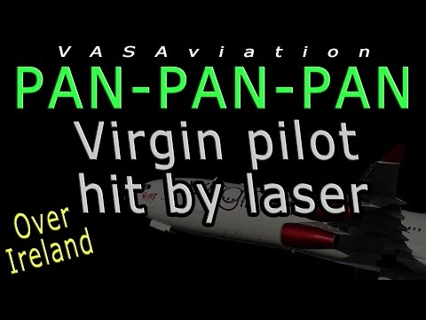 [REAL ATC] Virgin PILOT HIT BY LASER on takeoff @EGLL!!