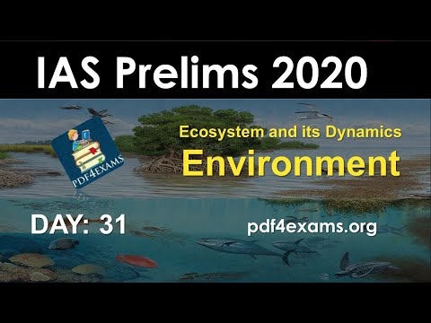 Environment Crash Course: Day 31 Ecosystem And Its Dynamics (Environment PT 2020)