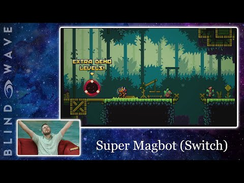 BW PLAYS: Super Magbot - Nintendo Switch Demo  