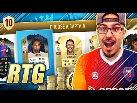 OMG THIERRY HENRY + FREE DRAFT TOKEN! FIFA 18 Road To Fut Champions! Ultimate Team #10 RTG