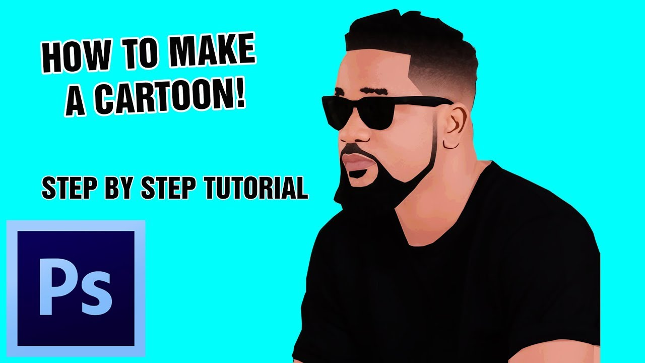 how to make cartoon in photoshop cs6