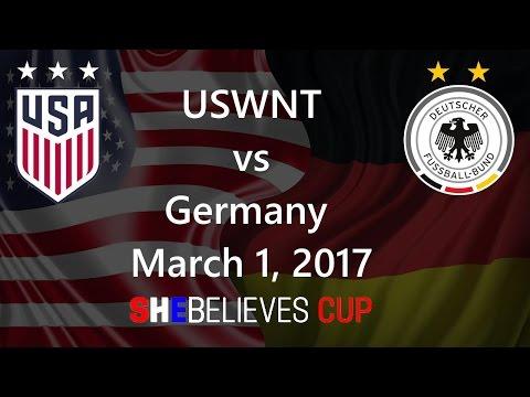 USWNT vs Germany March 1, 2017