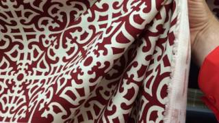 """Williamsburg """"Parterre Damask"""" In Laquer Drapery & Curtain Fabric By The Yard"""