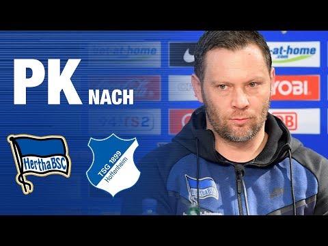 PK NACH HOFFENHEIM - Dardai Nagelsmann - Hertha BSC - Berlin - 2018 #hahohe