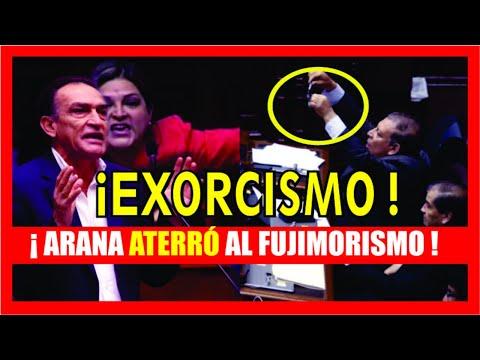 #FuegoNaranja. Marco Arana muestra unas esposas a Becerril y el Fujimorismo explotó