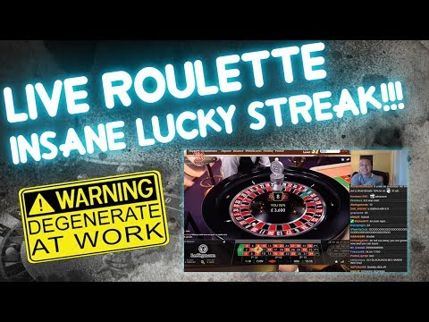 Crazy Roulette Luck!! (from live stream)