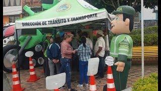 Mediante campaña educativa se promueve uso adecuado de vías y medios de transporte