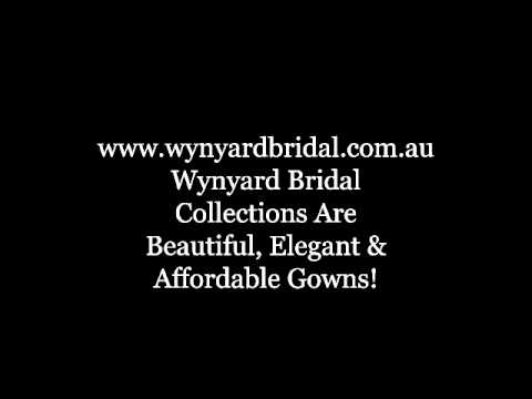 Australia bridal gowns store; affordable bridal stockist