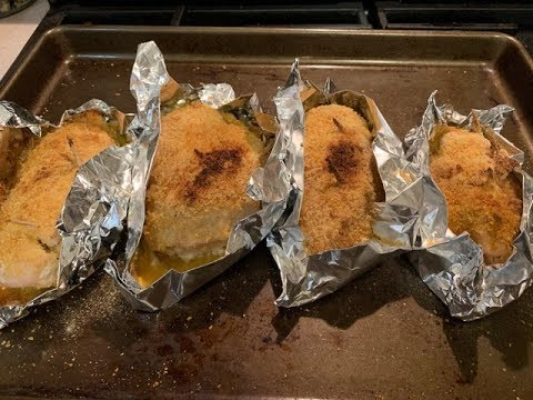 Chicken Kiev ~ Baked In The Oven !!!
