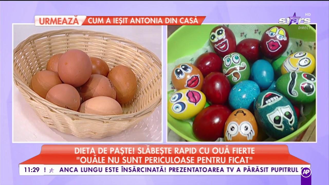 cura de slabire rapida cu oua