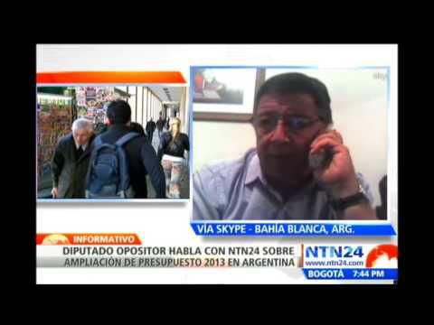 Presidente interino de Argentina Amado Boudou autoriza nuevo incremento al presupuesto de su nación