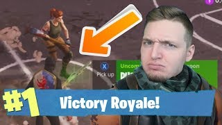 WHAT TO DO WHEN YOU DON'T GET THE GUN! (Fortnite Battle Royale)