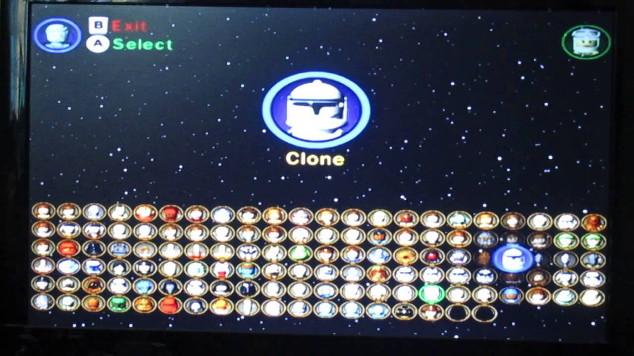 Lego Star Wars The Complete Saga All Characters Unlocked Indiana