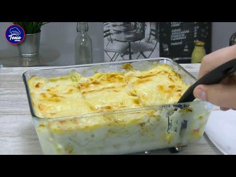 LASAÑA DE POLLO | Receta fácil y deliciosa | Chicken Lasagne | @TonioCocina