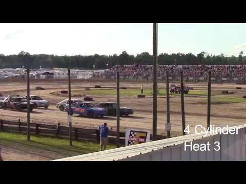 Merritt Speedway 4 Cylinder Heat 3 7/2/17 Stands