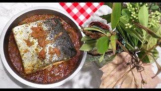 Готовим рыбу Лосось с овощами в духовке