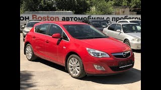 Opel Astra, 2012, 1.4 Turbo AT (140 л.с.), красный, Обзор Автосалон Boston От Сергея...