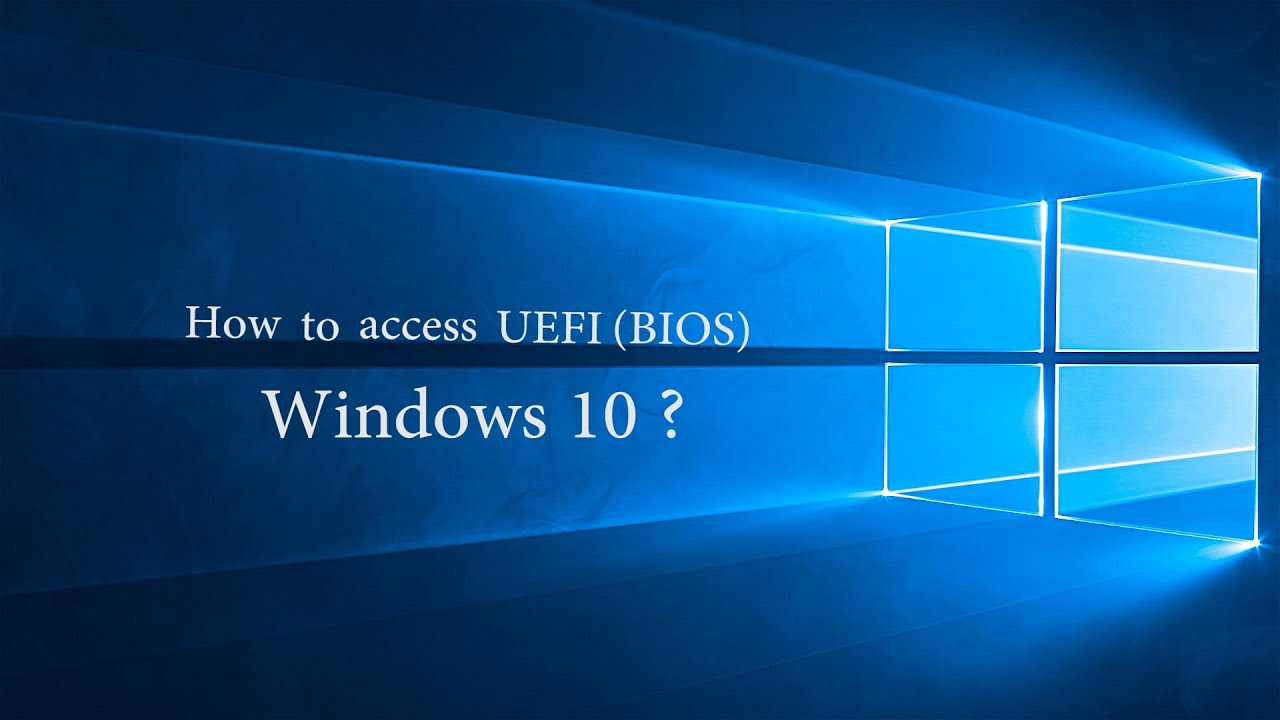 windows 10 asus bios key