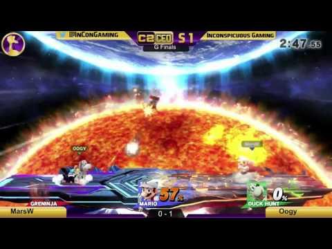 C2CEO S1 W4 MarsW (Mario) VS Oogy (Duck Hunt) - Smash 4 Wii U