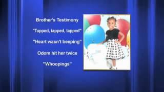 Little boy testifies against sister's accused killer