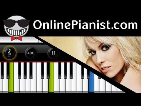 Natasha Bedingfield - Unwritten - Piano Tutorial